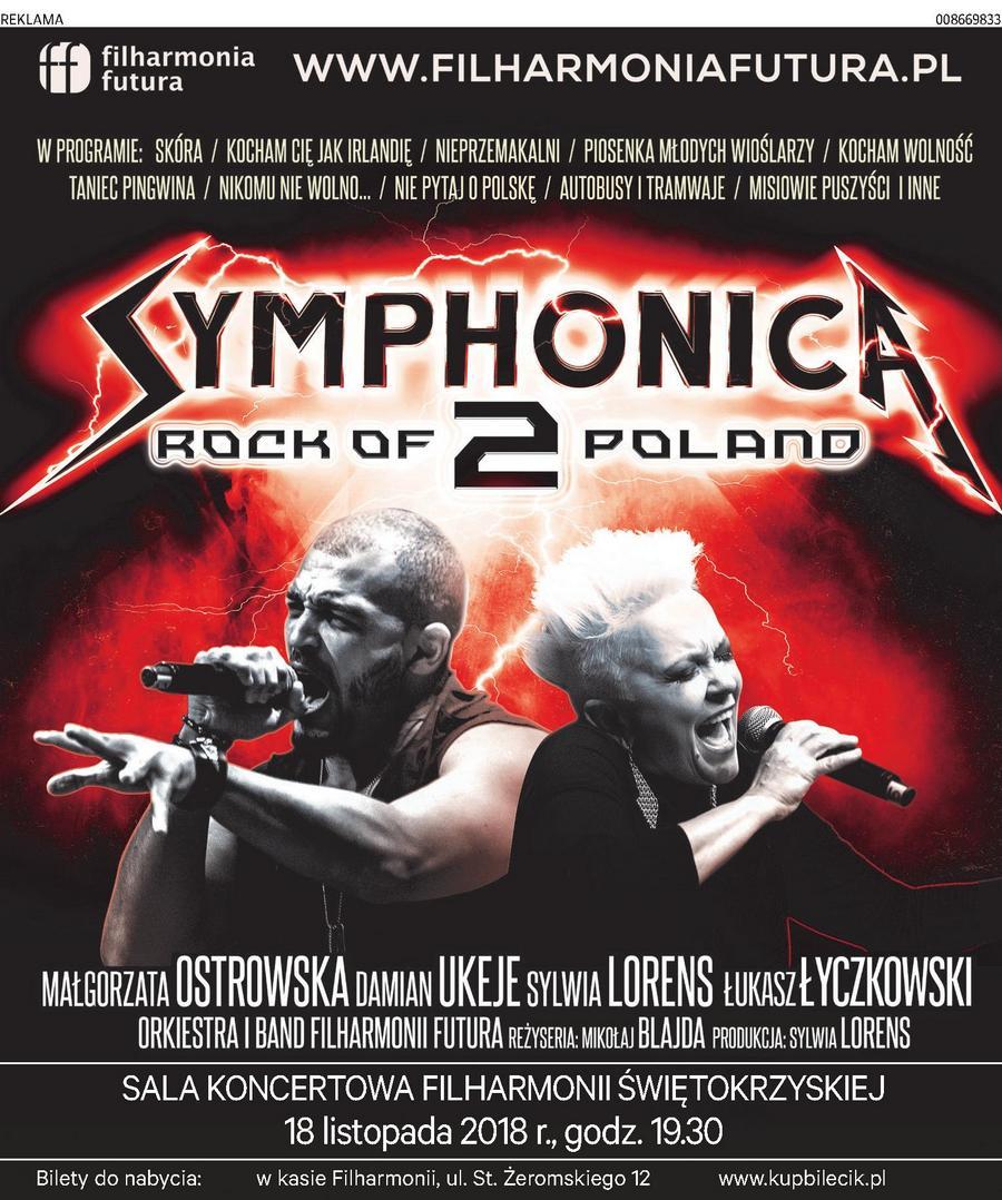 Symphonica 2 Rock of Poland w Kielcach!