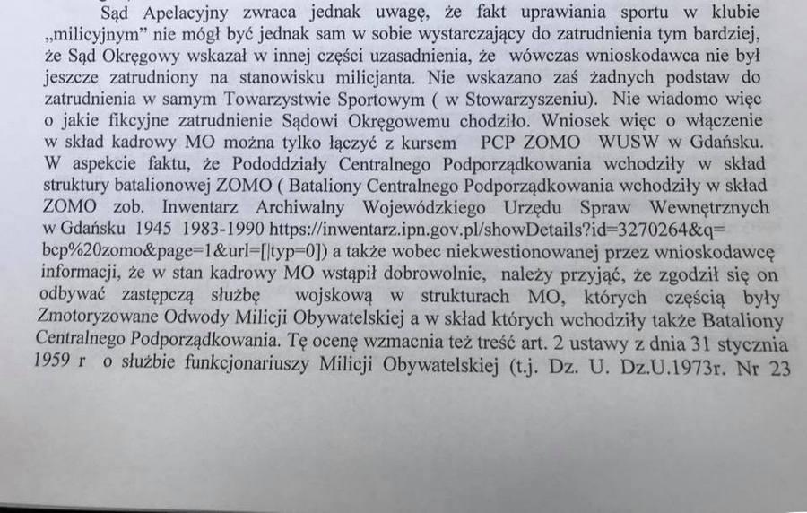 Kandydat na prezydenta Kielc służył w ZOMO?
