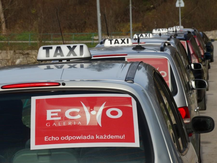 Taksówkę w Kielcach zamówisz także przez smartfona