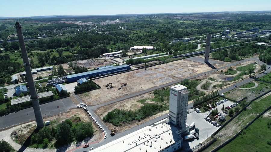 Niedoszła Fabryka Tlenku Glinu zamieniona na tereny inwestycyjne