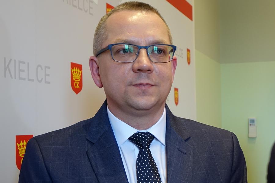 Arkadiusz Kubiec wiceprezydentem Kielc. Bogdan Wenta powołał zastępcę