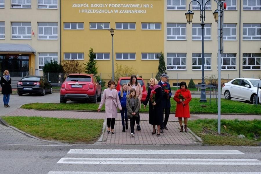 Bezpieczniej na przejściach w Zagnańsku