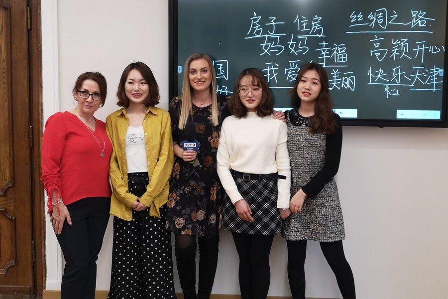 Żacy lepiej poznają kulturę Chin. Zmierzą się również z nauką języka