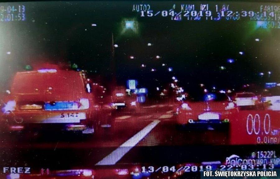 Drogówka udaremniła nielegalne wyścigi uliczne