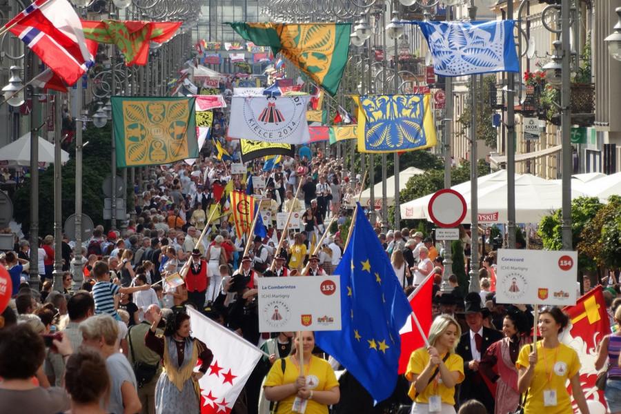 Europejski folklor znów wypełni Kielce