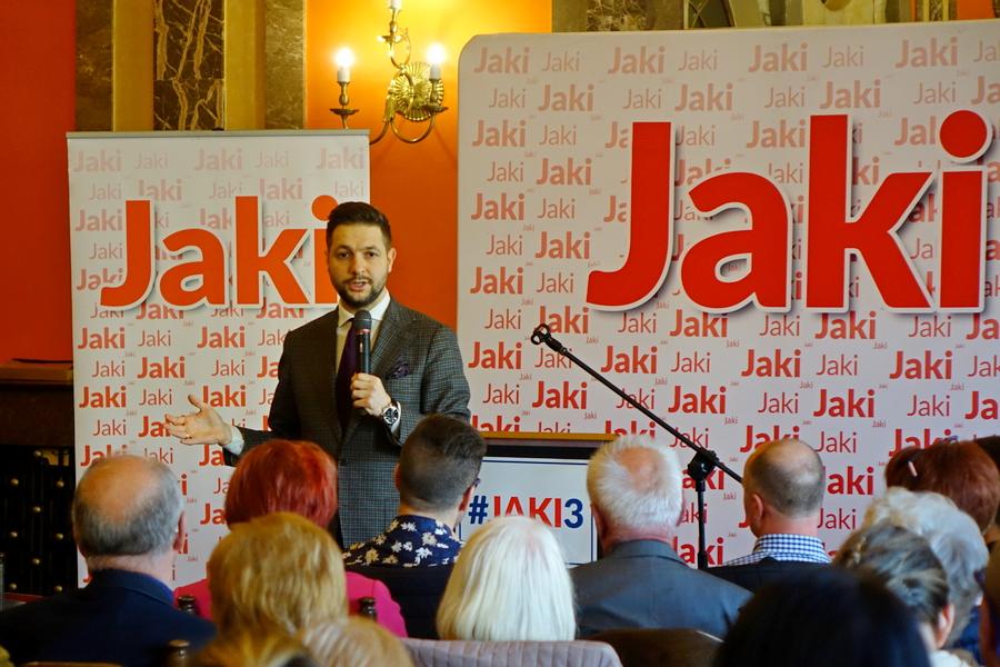 Patryk Jaki w Kielcach: Rząd PiS nie bierze pod uwagę wypłaty żydowskich roszczeń