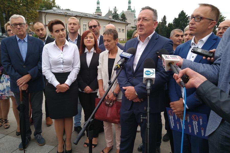 Koalicja Obywatelska prezentuje świętokrzyskich kandydatów w wyborach parlamentarnych
