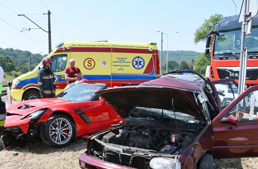 Kobieta zginęła w wypadku na Krakowskiej