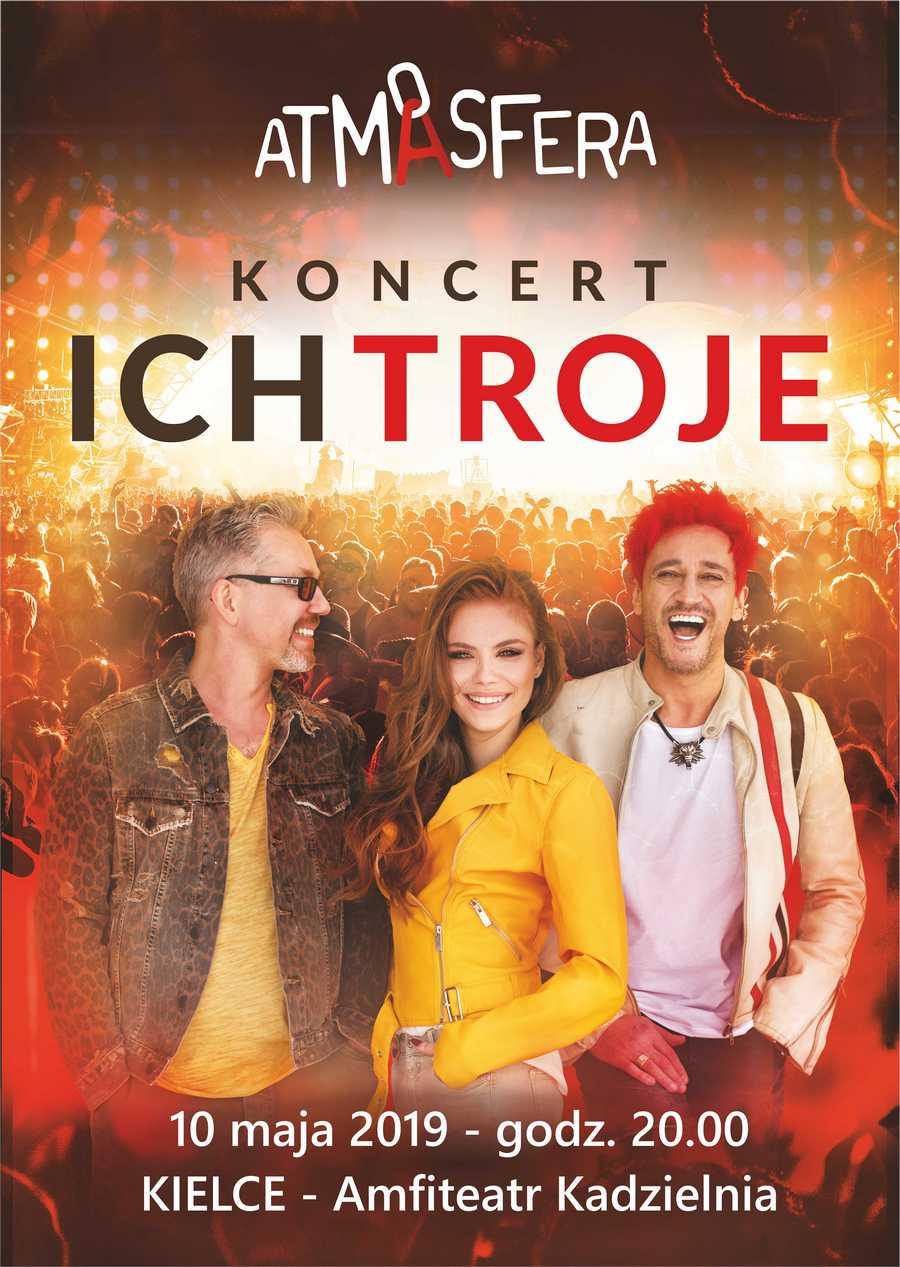Koncert ICH TROJE w Kielcach