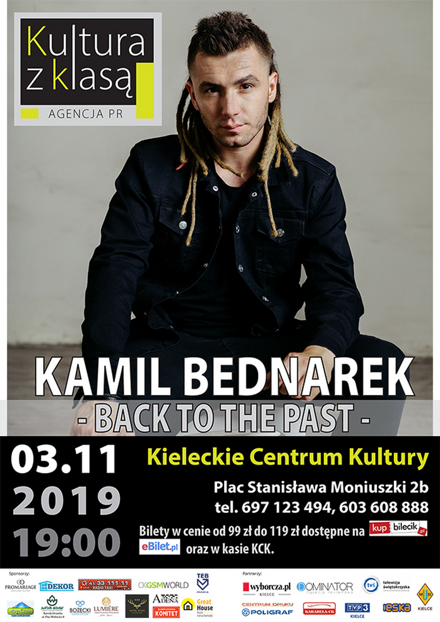 Koncert Kamila Bednarka w Kielcach!