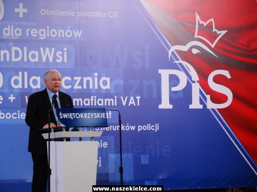 W środę konwencja wyborcza PiS w Kielcach. Przyjedzie Jarosław Kaczyński oraz premier Morawiecki