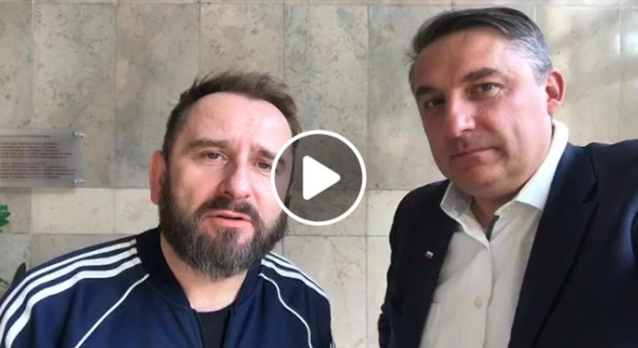 Piotr Liroy-Marzec poparł kandydata z PiS