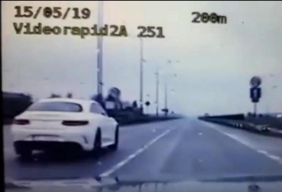 Kielczanin jechał przez miasto Mercedesem ponad 180 kh na godzinę