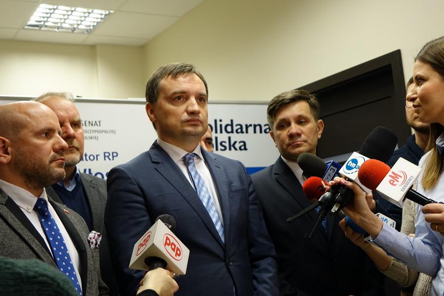 Minister Zbigniew Ziobro odwiedził Kielce