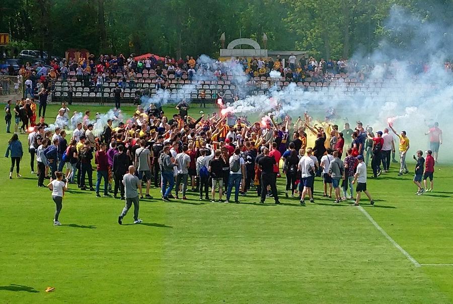 Korona mistrzem Polski! Młodzi wywalczyli piłkarski puchar