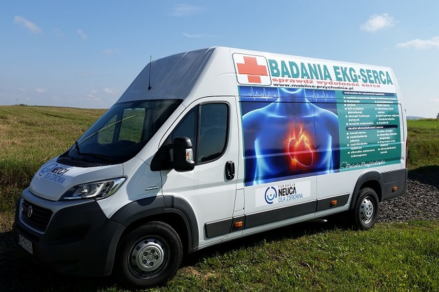 Bezpłatne badania kardiologiczne. Mobilna przychodnia w Kielcach