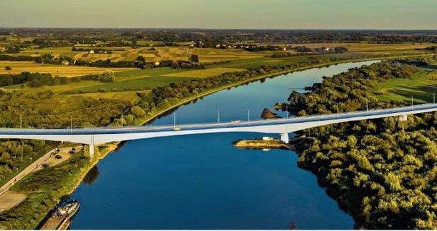 Most na Wiśle połączy dwa województwa