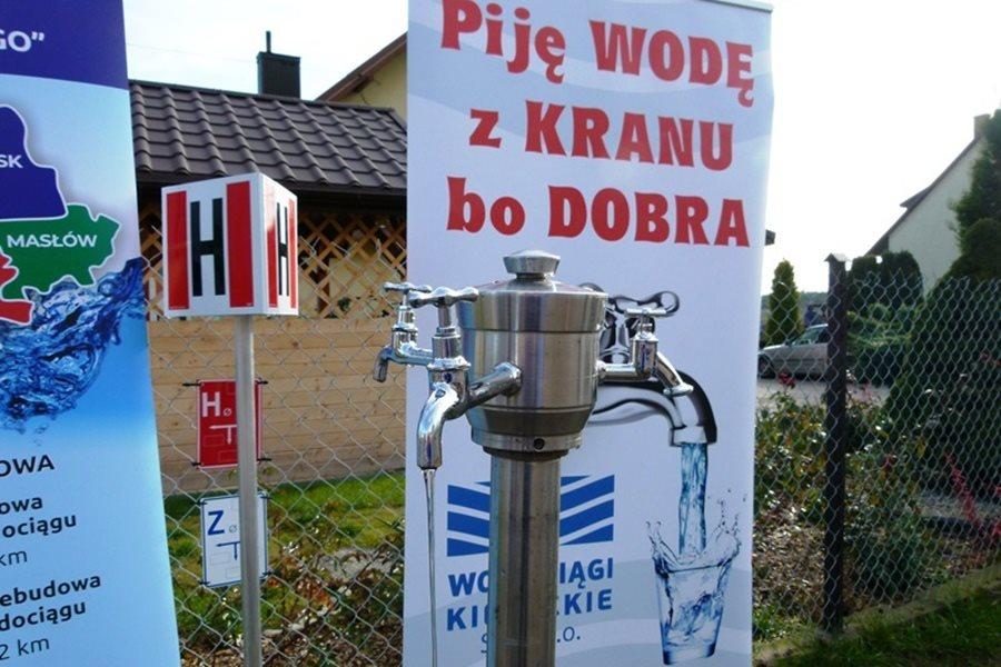 Nowy wodociąg w podkieleckiej wsi już gotowy