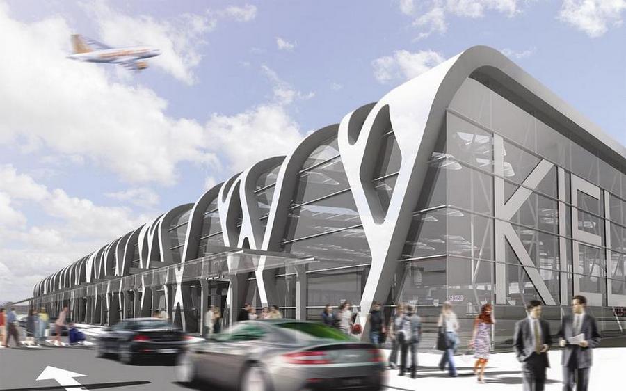 Nowy prezes Portu Lotniczego Kielce z pensją 100 złoty miesięcznie. Jego firma kręci dronem teledyski disco polo
