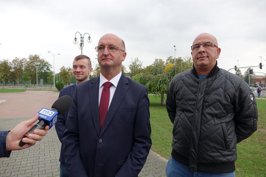 Wiceminister Piotr Wawrzyk apeluje do władz Kielc