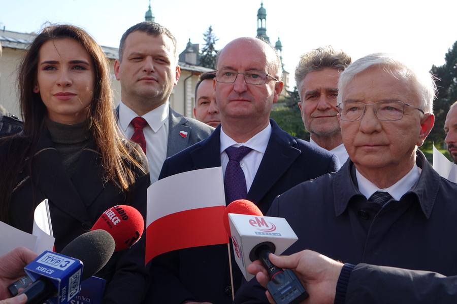 Świętokrzyski PiS zachęca do udziału w niedzielnych wyborach