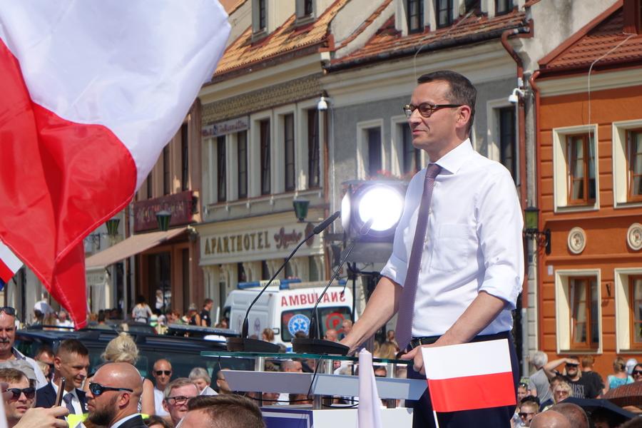 Premier Morawiecki odwiedzi region