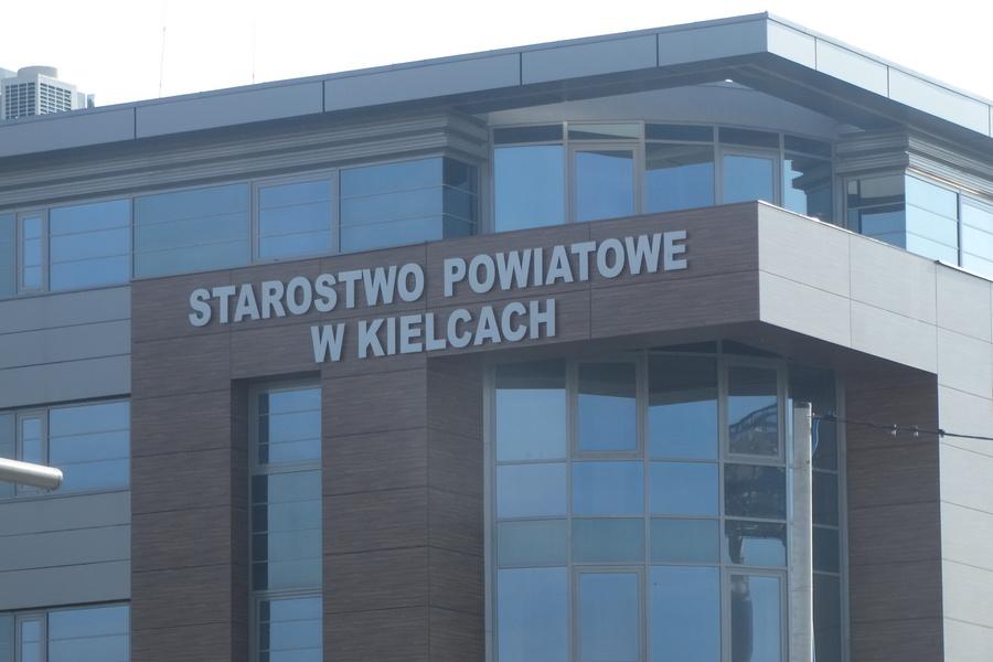 Reorganizacja w Starostwie Powiatowym w Kielcach