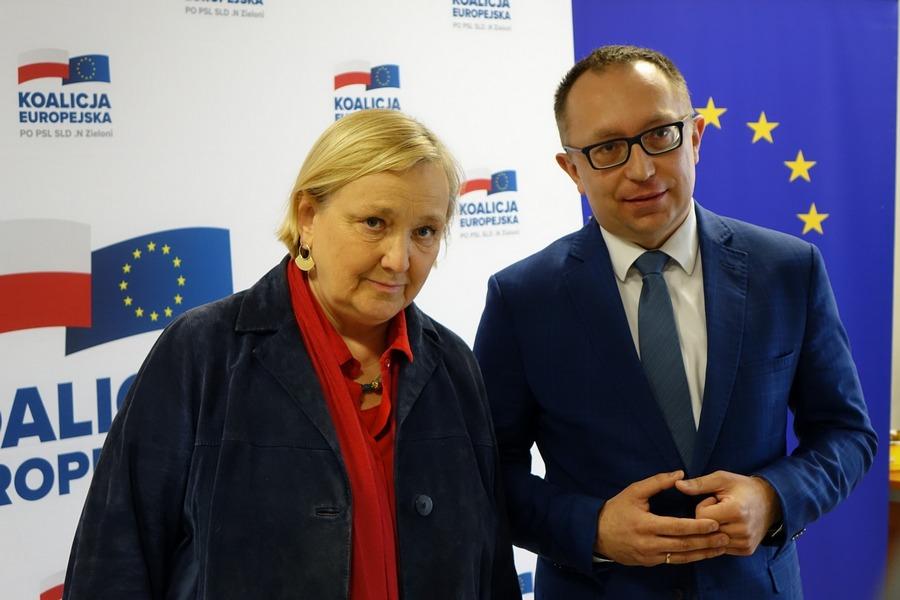 Różą Thun odwiedziła Kielce i przedstawiła 9 punktów swojego programu wyborczego (WIDEO)
