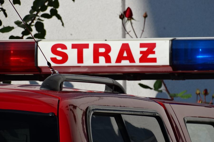 Eksplozja raniła strażaka. Po długiej walce o życie zmarł