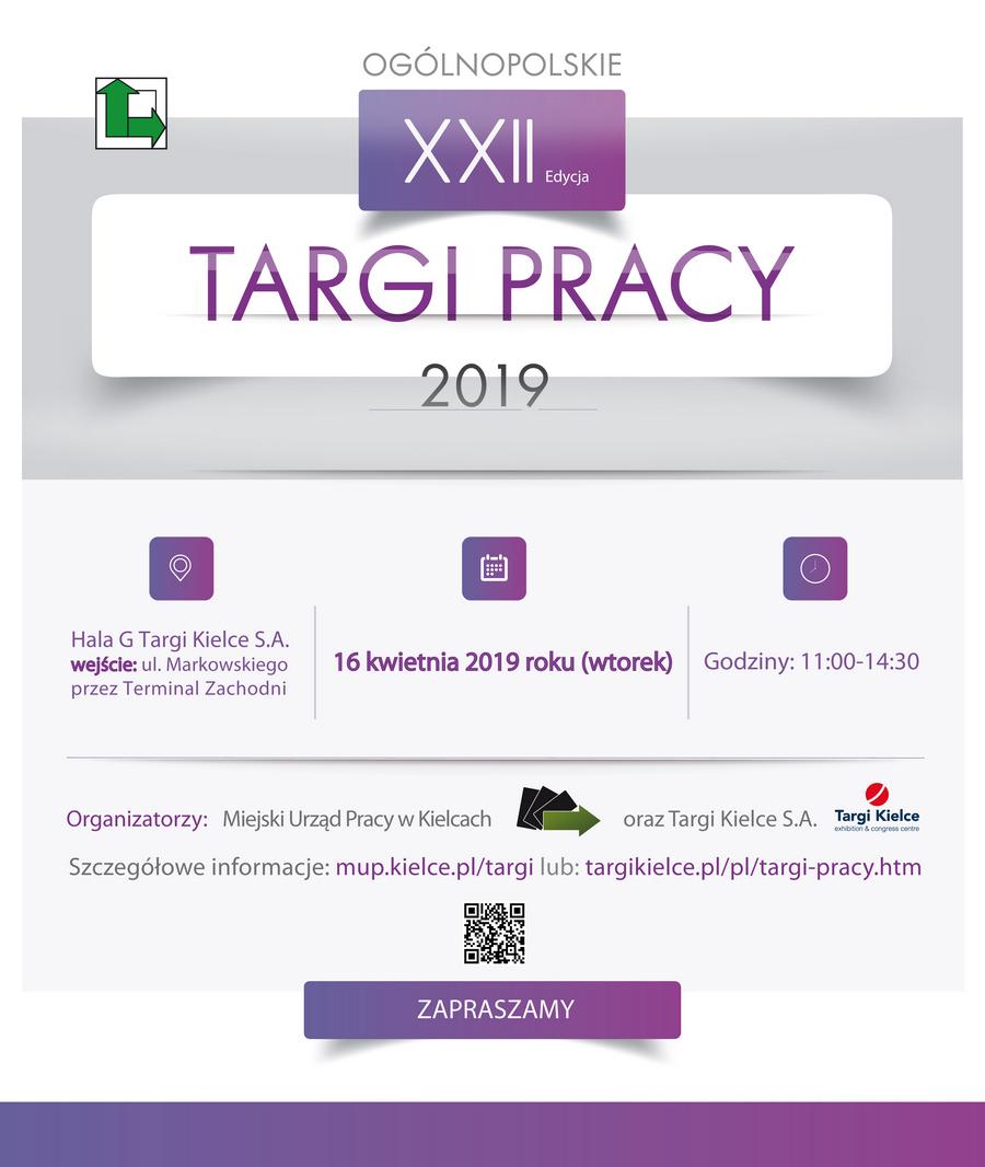 XXII Ogólnopolskie Targi Pracy już wkrótce