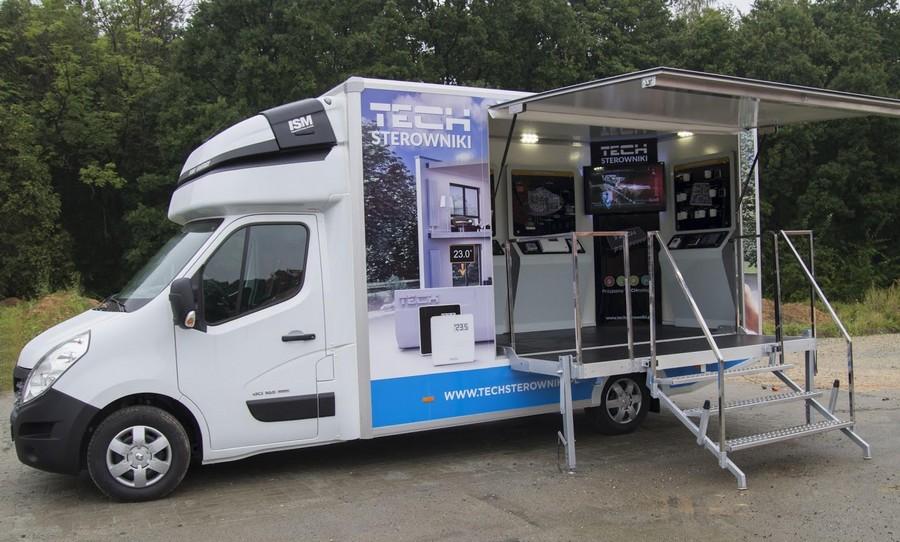 Mobilna wystawa sterowników do ogrzewania w Kielcach
