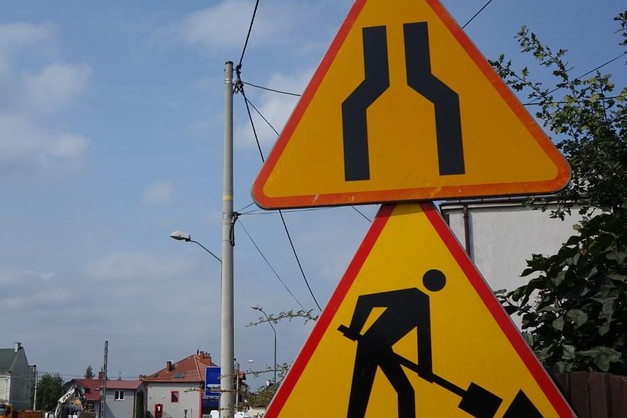 Utrudnienia dla kierowców w związku z przebudową ulicy