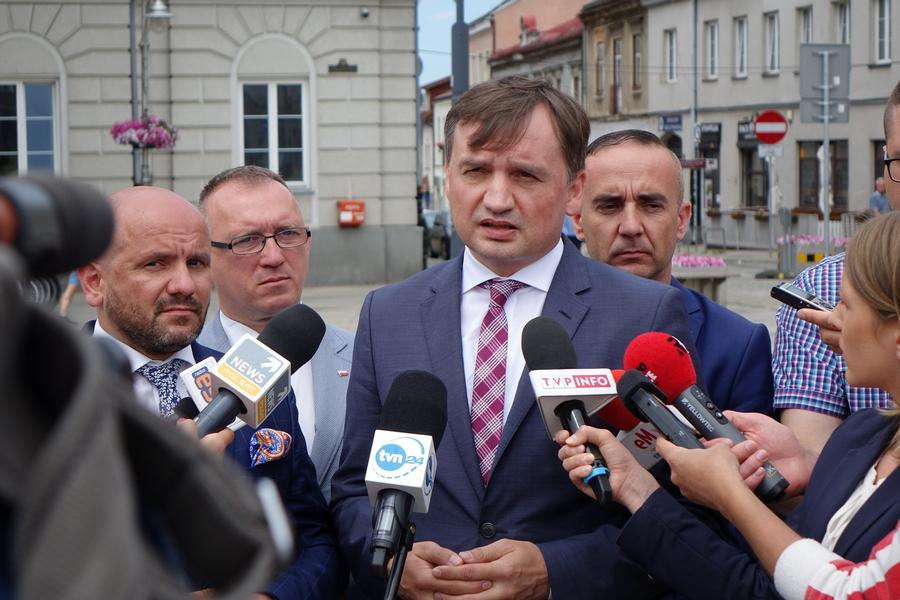 Zbigniew Ziobro jedynką na liście PiS