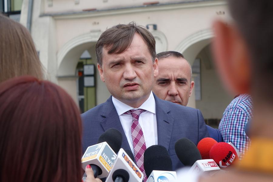 Minister Ziobro odwiedził Kielce
