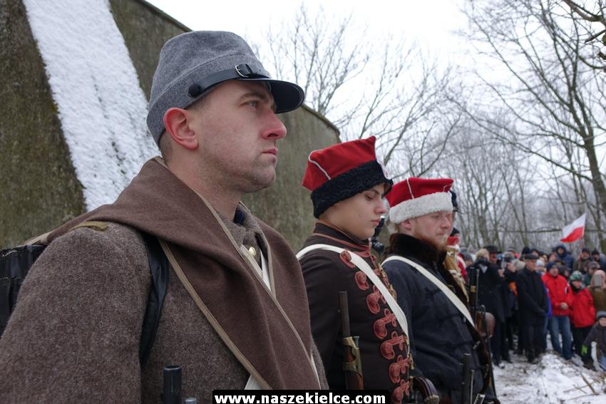 155 rocznica wybuchu Powstania Styczniowego. Obchody w Kielcach 21.01.2018