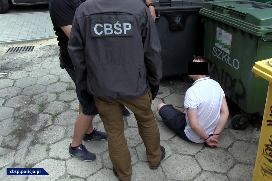 Akcja CBŚ w Kielcach i Ostrowcu 15.06.2018
