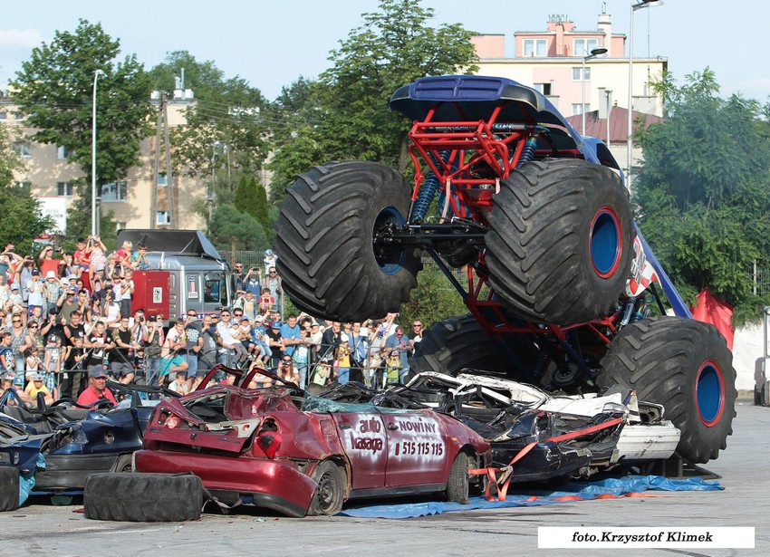Monster Truck Show w Kielcach 16.07.2017