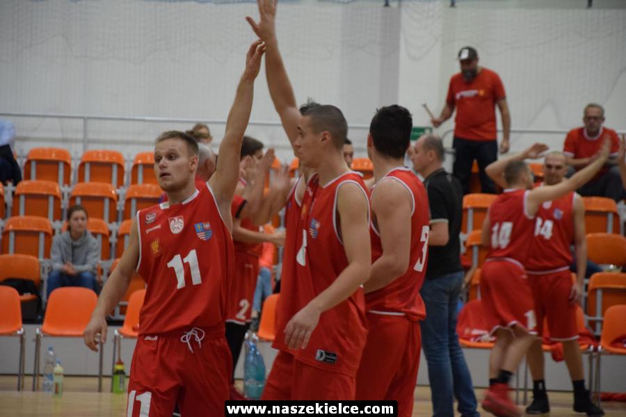 Piąta wygrana AZS UJK Kielce (ZDJĘCIA)