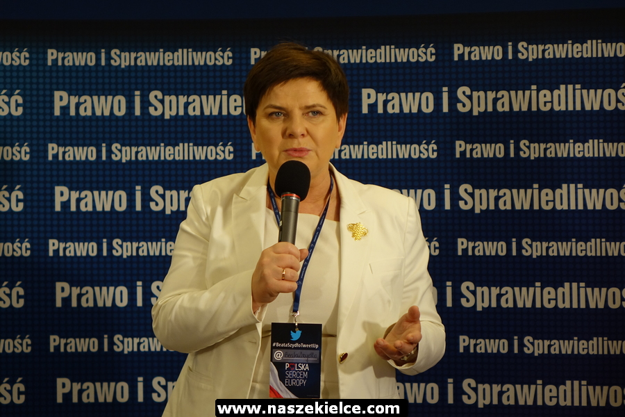 Beata Szydło w Kielcach 05.04.2019