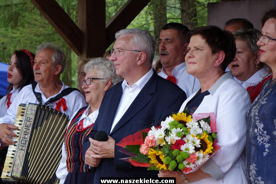 Beata Szydło w Tokarni 21.07.2019