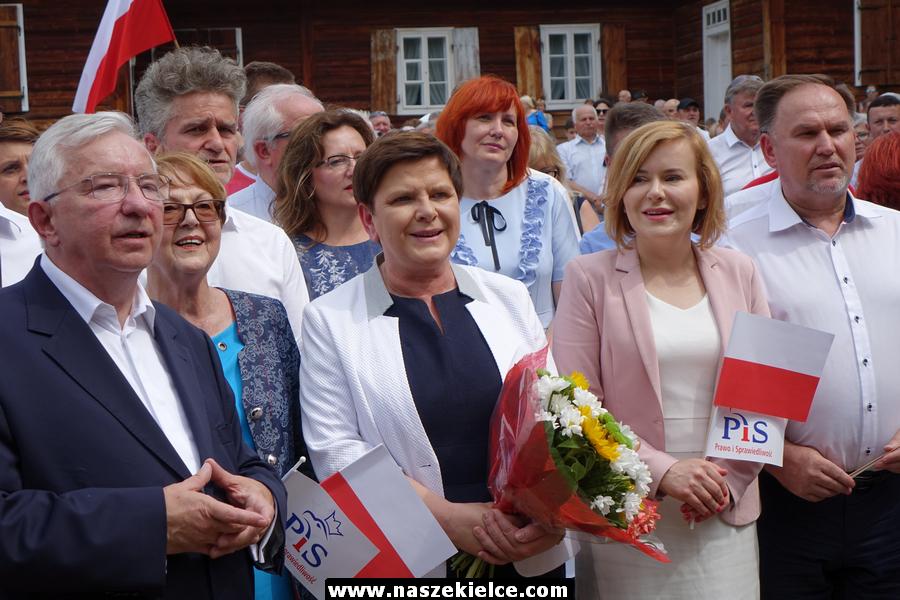 Beata Szydło z wizytą w regionie