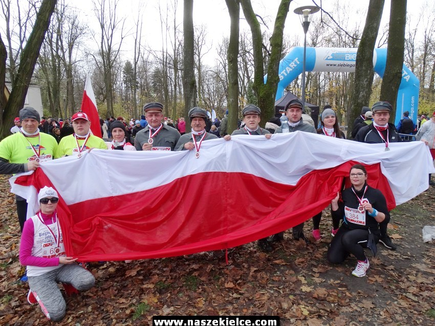 X Bieg Niepodległości w Kielcach 12.11.2017