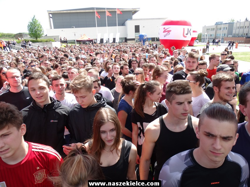 Bieg przez kampus UJK w Kielcach 17.05.2017