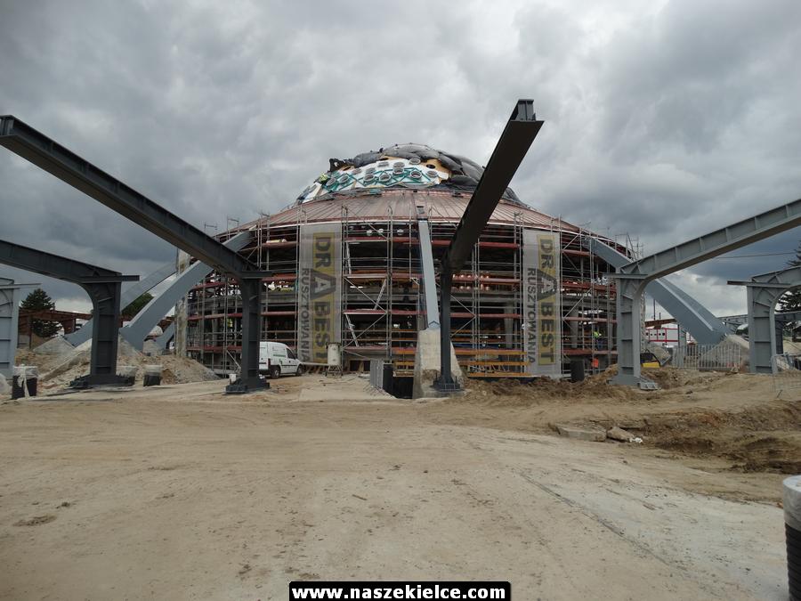 Budowa Centrum Komunikacyjnego w Kielcach 17.07.2019