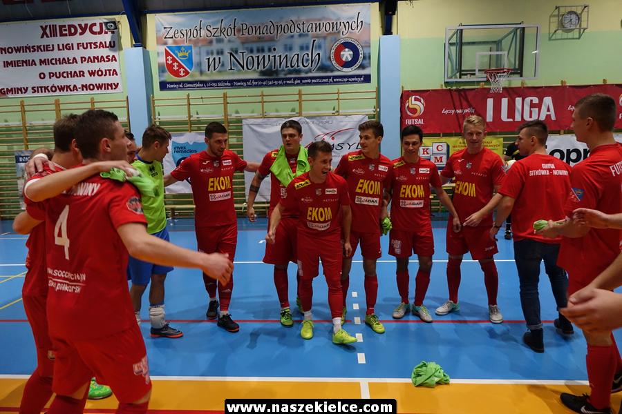 Świętokrzyskie derby futsalu w Nowinach 17.11.2018
