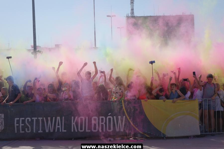Festiwal kolorów w Kielcach 30.06.2019