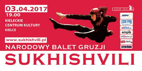 """kielce kultura W Kielcach wystąpi Narodowy Balet Gruzji """"Sukhishvili"""""""