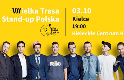 kielce wiadomości Wielka Trasa Stand-up Polska w Kielcach