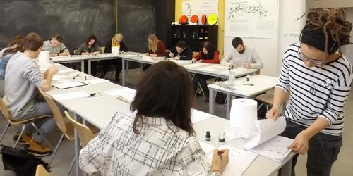 kielce kultura Zatuszować T9! Warsztaty kaligrafii w IDK