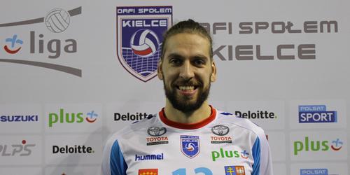 kielce sport Tomislav Dokić nowym atakującym Dafi Społem Kielce